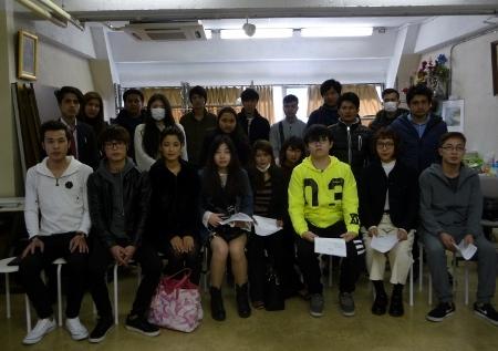 2017年度マスターコース絵画・人形科 入学式_b0107314_16020817.jpg