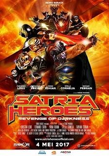 日本インドネシア合作の映画:Satria Heroes: Revenge of Darkness 来月公開 目標は100万人_a0054926_09003986.jpg
