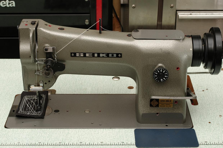 セイコー SEIKO STH-8BLD 1本針総合送り本縫いミシン_c0147653_2216738.jpg