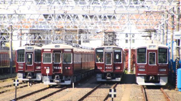 阪急7015F 増結試験_d0202264_22355452.jpg