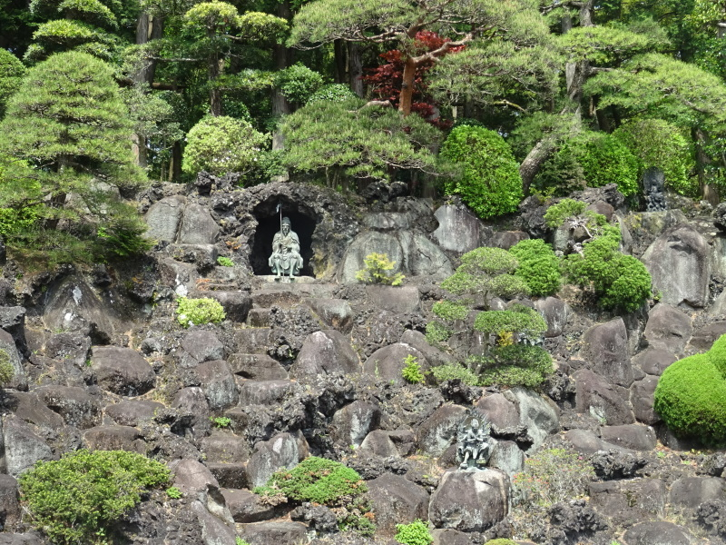 成田山でそば豆腐_b0236665_07334298.jpg