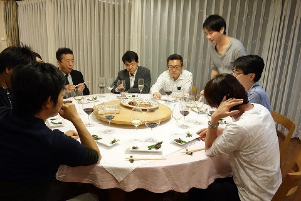 第9回中京病院循環器内科の先生方との食事会_a0152501_07123354.jpg