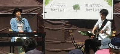 Jazz and noodles in Machida_c0077105_22411704.png