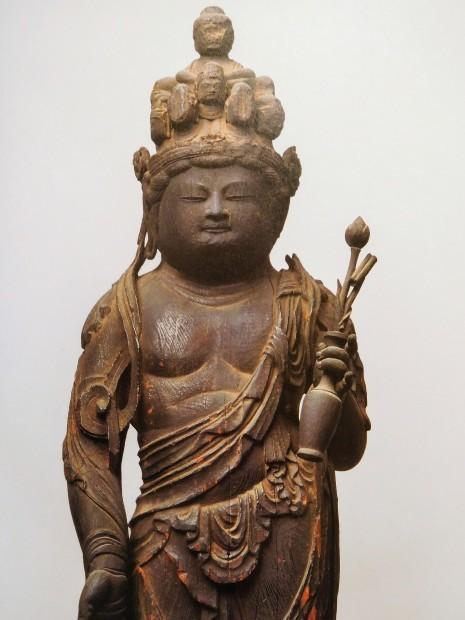 木 × 仏像 飛鳥仏から円空へ 日本の木彫仏1000年 大阪市立美術館_e0345320_22480696.jpg
