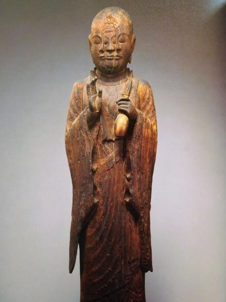 木 × 仏像 飛鳥仏から円空へ 日本の木彫仏1000年 大阪市立美術館_e0345320_22545698.jpg