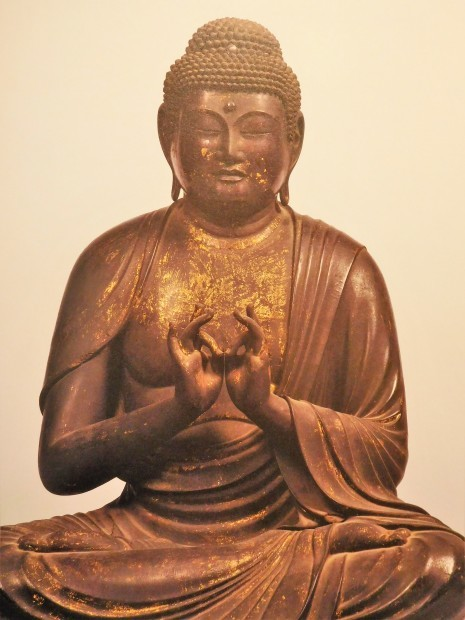 木 × 仏像 飛鳥仏から円空へ 日本の木彫仏1000年 大阪市立美術館_e0345320_23380890.jpg