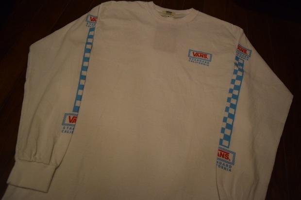 『VANS × SD Checker Box Logo Long Sleeve T』!!!_c0355834_19162766.jpg