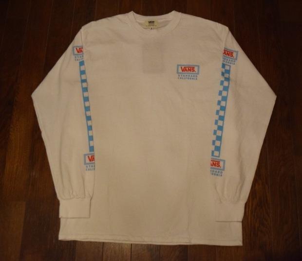 『VANS × SD Checker Box Logo Long Sleeve T』!!!_c0355834_19163152.jpg