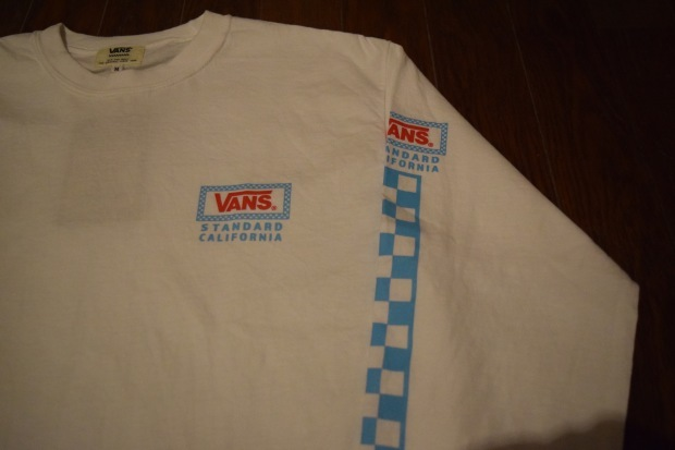 『VANS × SD Checker Box Logo Long Sleeve T』!!!_c0355834_19173091.jpg
