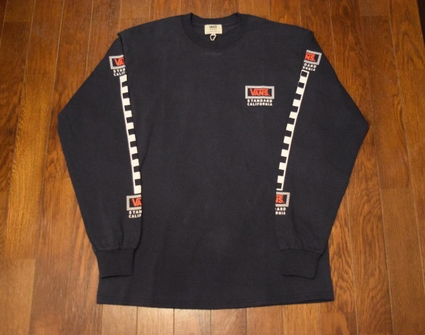 『VANS × SD Checker Box Logo Long Sleeve T』!!!_c0355834_19175036.jpg
