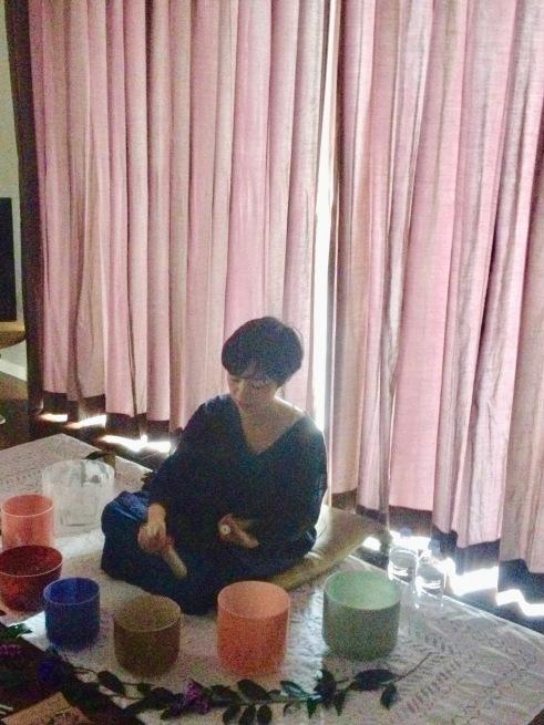 クリスタルボウル 「うたたね演奏会〜新緑の呼吸〜」@大阪_a0146145_17190263.jpg