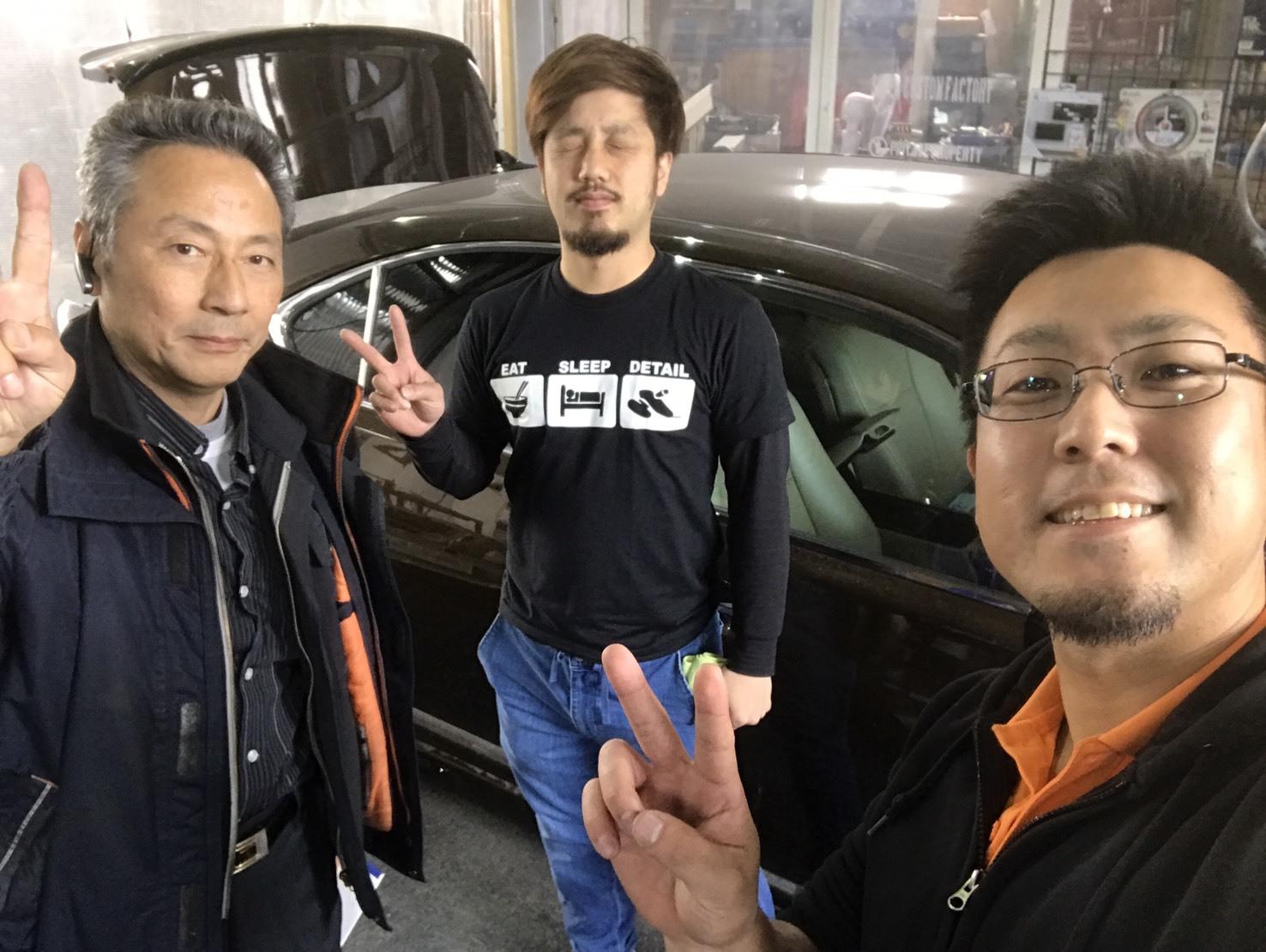 4月30日(日)TOMMY BASE ともみブログ☆ランクル ハイエース セルシオ_b0127002_20471356.jpg