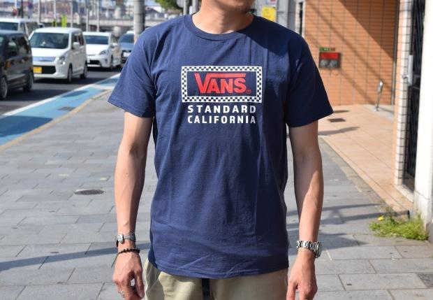 『VANS × SD Checker Box Logo T』!!!_c0355834_18440118.jpg