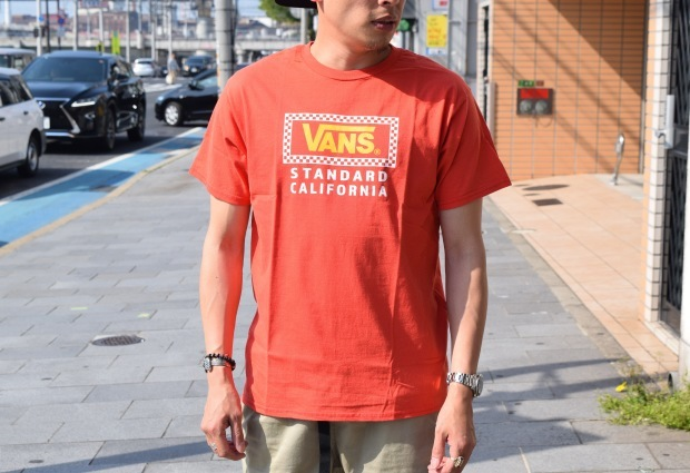 『VANS × SD Checker Box Logo T』!!!_c0355834_18440508.jpg