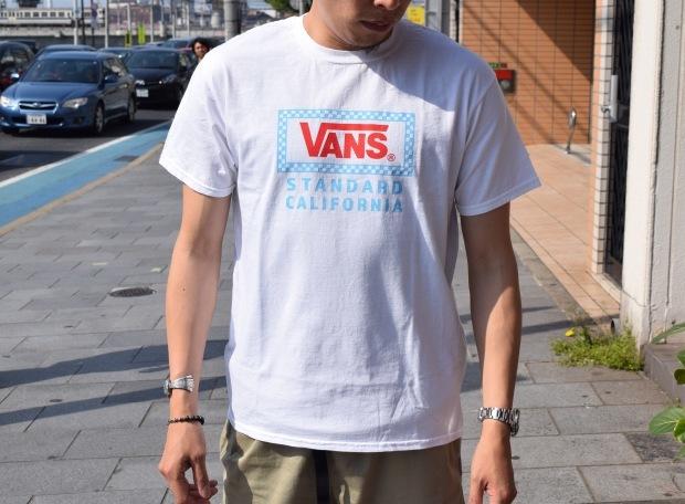 『VANS × SD Checker Box Logo T』!!!_c0355834_18461049.jpg