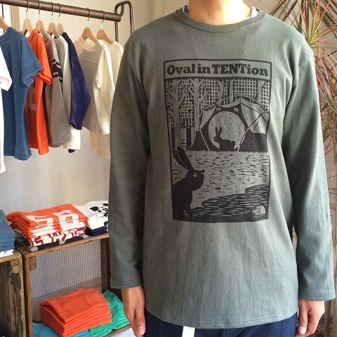 THE NORTH FACE PURPLE LABEL : L/S Graphic Tee_a0234452_19531352.jpg
