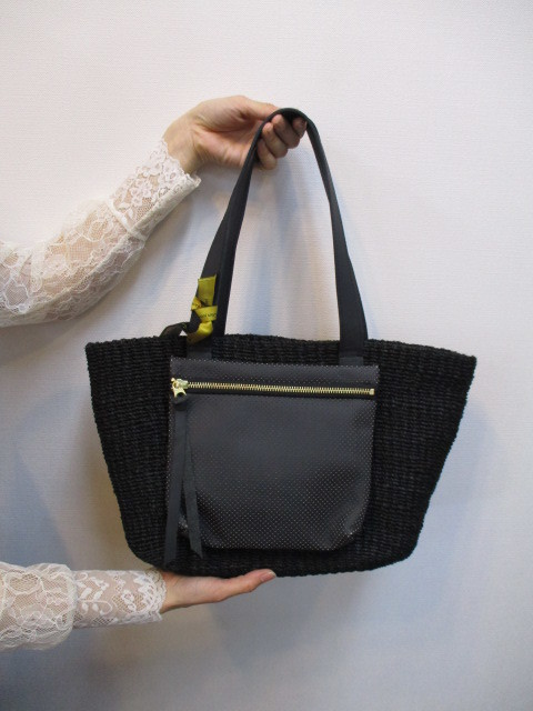 ★アンパサンド Ampersand Pocket basket bag NO:0817-202_e0076692_18344128.jpg