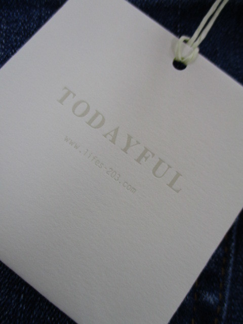 トゥデイフルTODAYFUL Ellies denim_e0076692_19400430.jpg
