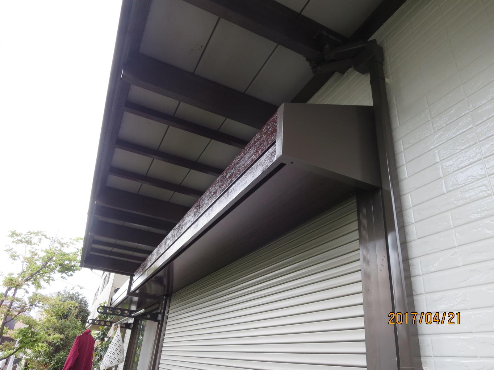 外装リフォーム工事とガラス交換<遮熱塗料と真空ガラススペーシア>_f0140817_12544694.jpg