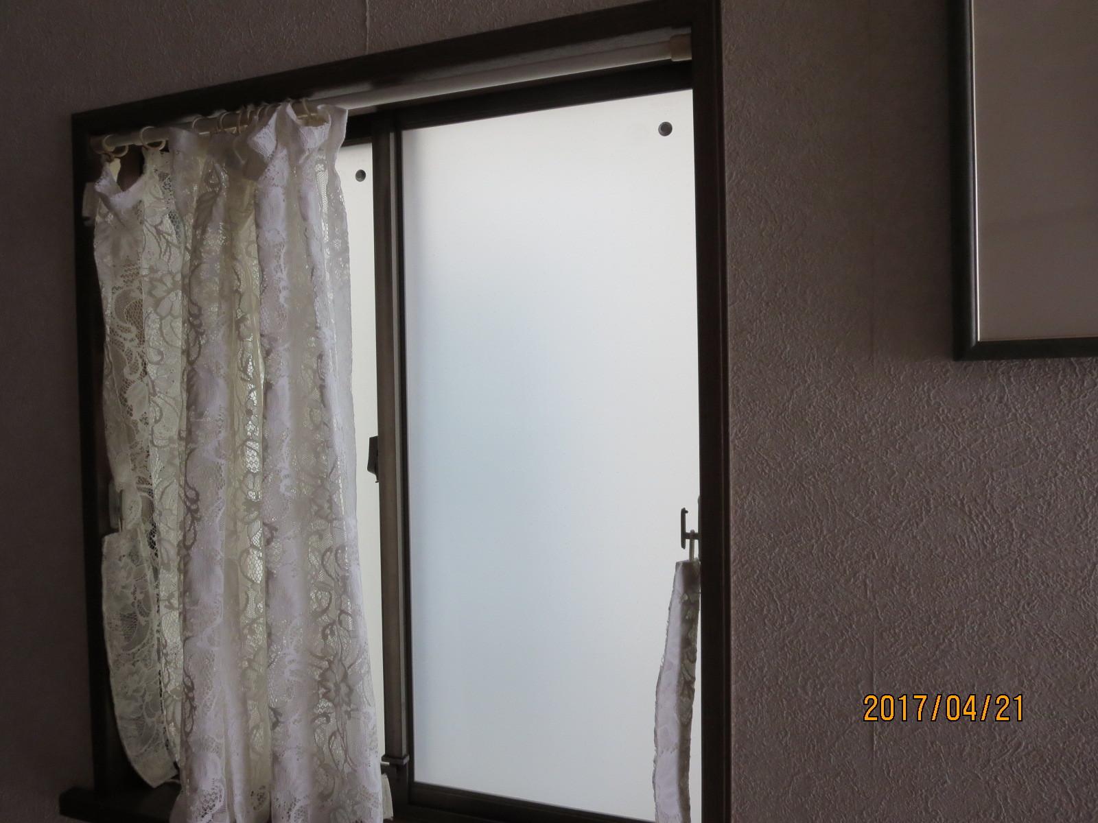 外装リフォーム工事とガラス交換<遮熱塗料と真空ガラススペーシア>_f0140817_12545246.jpg