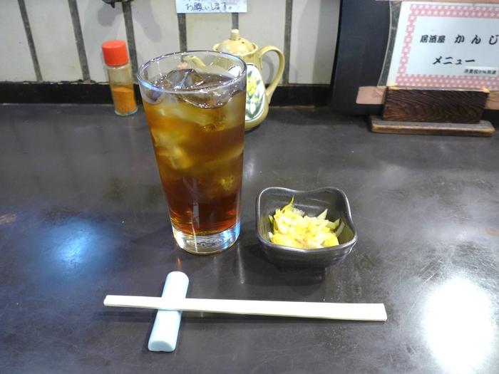 東中野「居酒屋かんじ」へ行く。_f0232060_014428.jpg