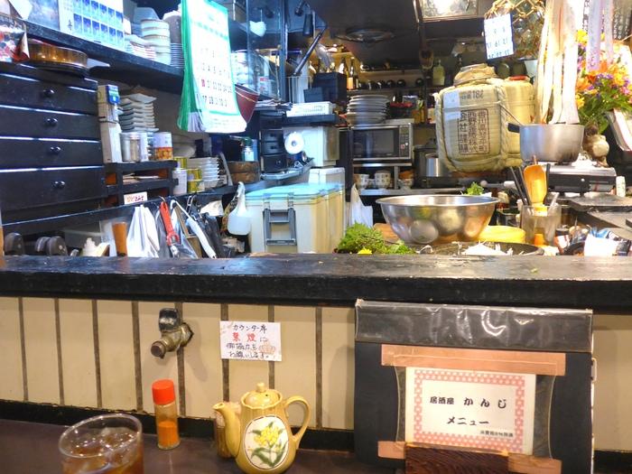 東中野「居酒屋かんじ」へ行く。_f0232060_0262854.jpg