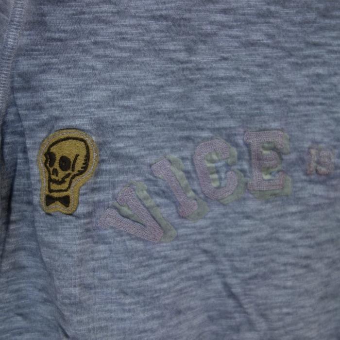 """Vintage 55(ヴィンテージ55)\""""VICE IS NICE\""""インディゴブルースラブジャージTシャツ_c0118375_00190027.jpg"""