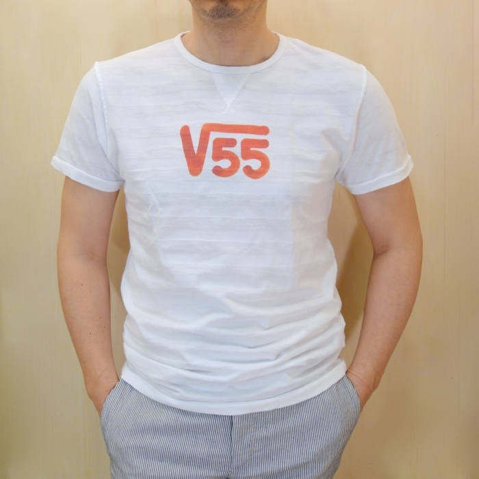 "Vintage 55 ( ヴィンテージ55 ) ""√55""プリント Tシャツ_c0118375_10452178.jpg"