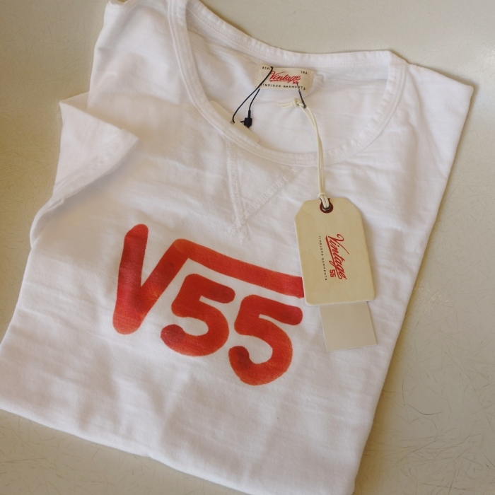 "Vintage 55 ( ヴィンテージ55 ) ""√55""プリント Tシャツ_c0118375_10473830.jpg"