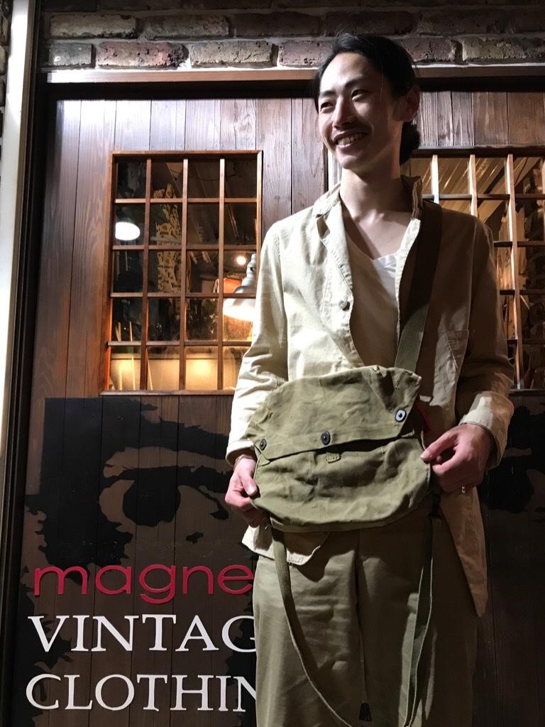 神戸店5/3(水)ヴィンテージウェア&服飾雑貨入荷! #3 Vintage Military Bag!!!_c0078587_00263381.jpg