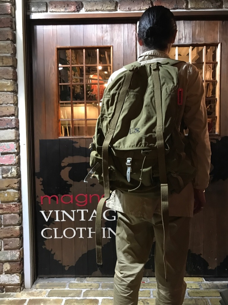 神戸店5/3(水)ヴィンテージウェア&服飾雑貨入荷! #3 Vintage Military Bag!!!_c0078587_00263468.jpg