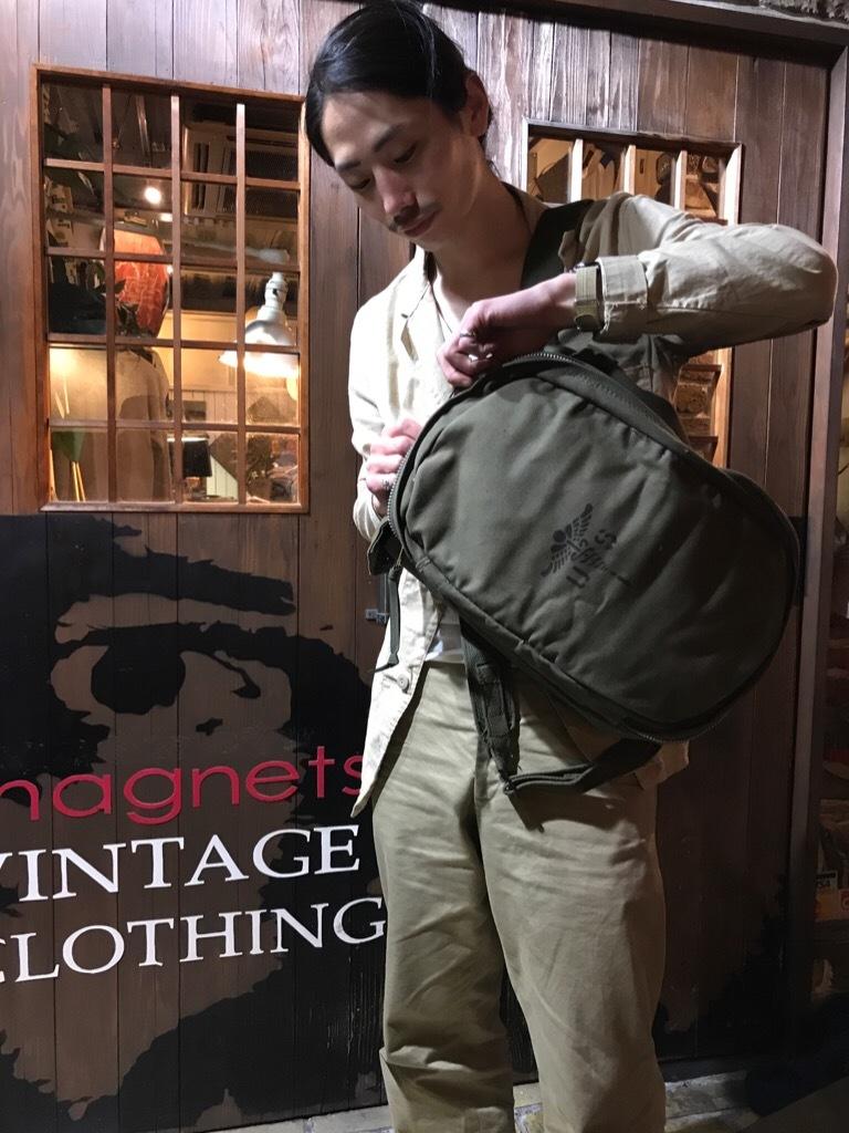神戸店5/3(水)ヴィンテージウェア&服飾雑貨入荷! #3 Vintage Military Bag!!!_c0078587_00263469.jpg