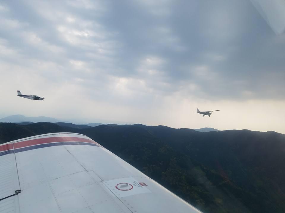 松山空港から約30分、瀬戸内の島々を見ながらのフライトは最高でした。_c0186691_117924.jpg