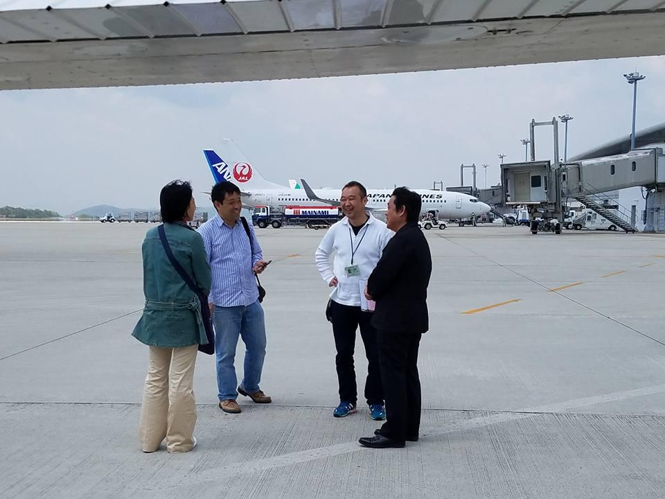 松山空港から約30分、瀬戸内の島々を見ながらのフライトは最高でした。_c0186691_119154.jpg