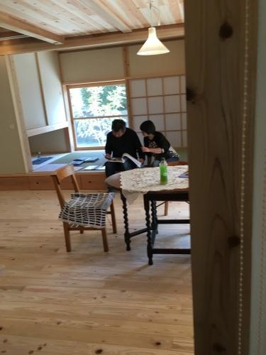 ki-bako/cherry完成見学会終了。_d0087595_12565863.jpg