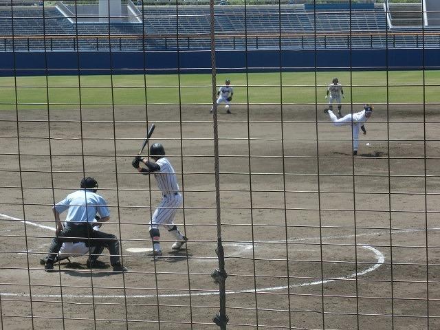 静岡高校に0-8 富士市立高校野球部 無念の2回戦敗退!_f0141310_08071831.jpg