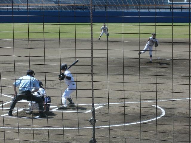 静岡高校に0-8 富士市立高校野球部 無念の2回戦敗退!_f0141310_08073821.jpg
