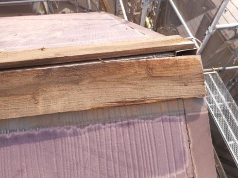 外装リフォーム・屋根棟の修理_f0140817_23474275.jpg