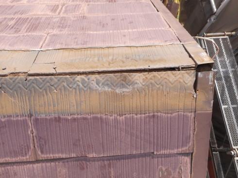 外装リフォーム・屋根棟の修理_f0140817_23475634.jpg