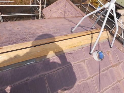 外装リフォーム・屋根棟の修理_f0140817_23480707.jpg