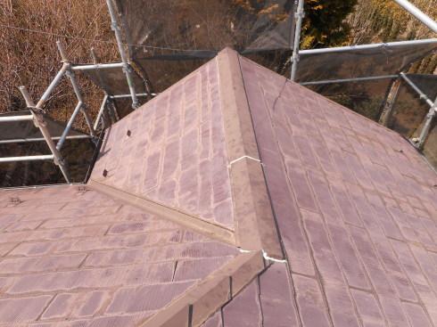 外装リフォーム・屋根棟の修理_f0140817_23483791.jpg