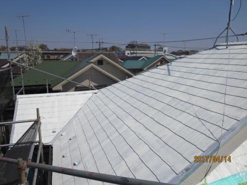 外装リフォーム・屋根棟の修理_f0140817_23490077.jpg