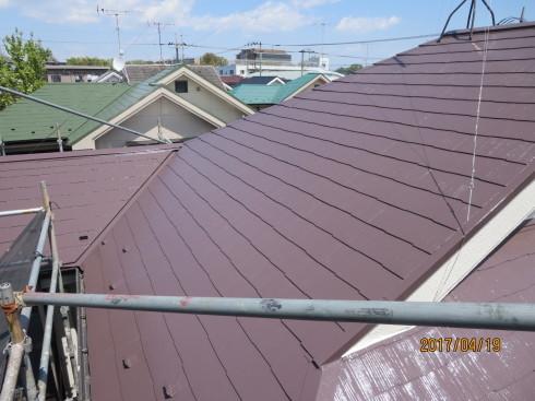 外装リフォーム・屋根棟の修理_f0140817_23490926.jpg