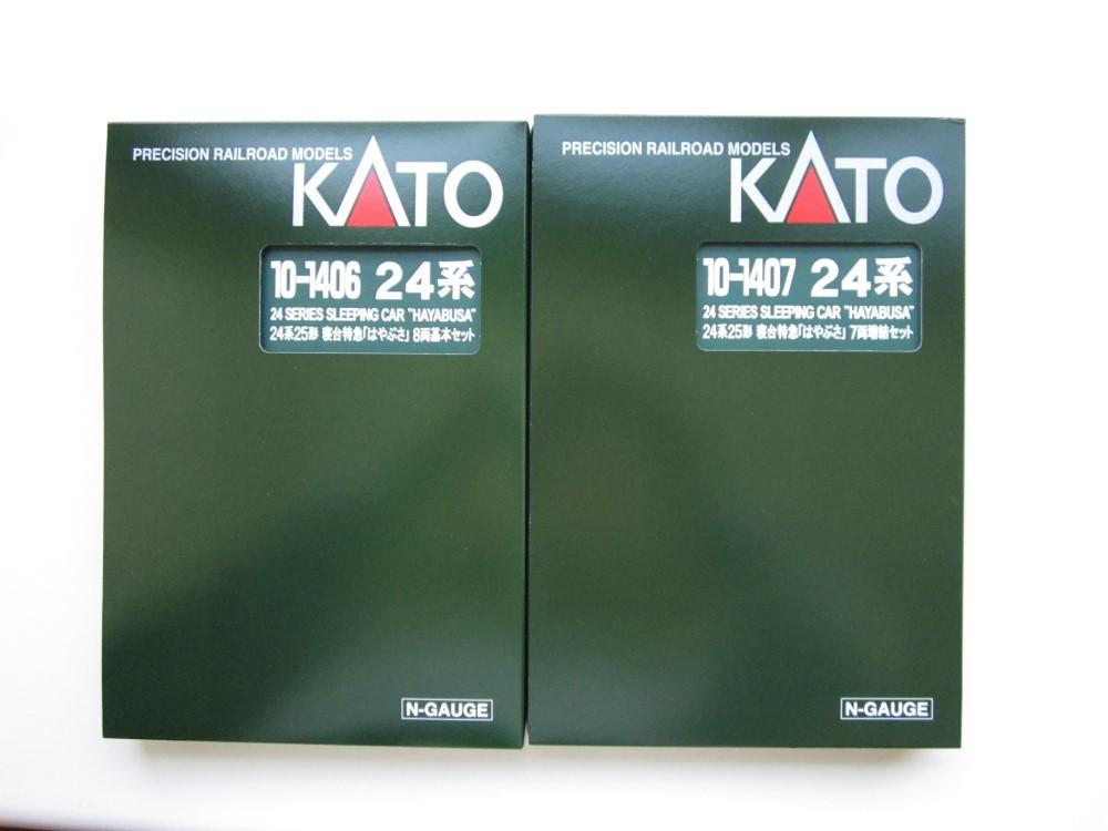 KATO 24系25形 寝台特急「はやぶさ」入線_e0120143_22311264.jpg