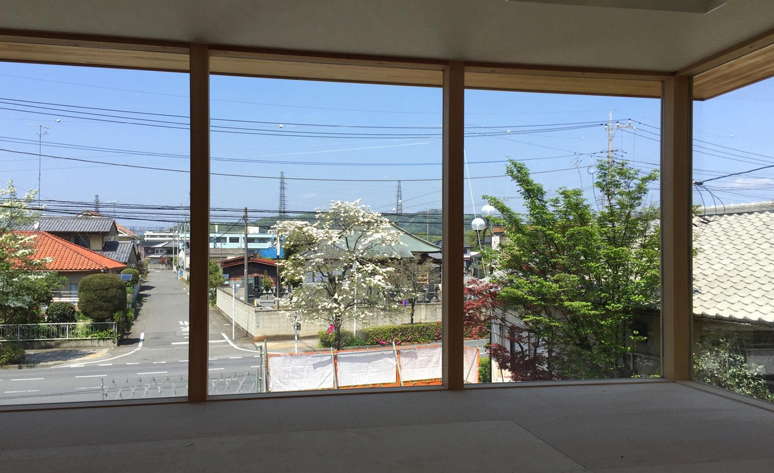 赤門セミナー太田校 床下配線 2畳の吹抜_e0127948_08565077.jpg