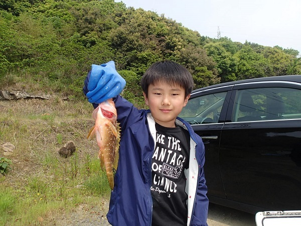 sakuraIIさんのお孫ちゃんの釣果♬_a0077071_18131744.jpg