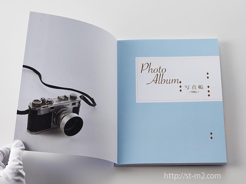 26作目のフォトブック 『写真帳』_a0002672_19231655.jpg