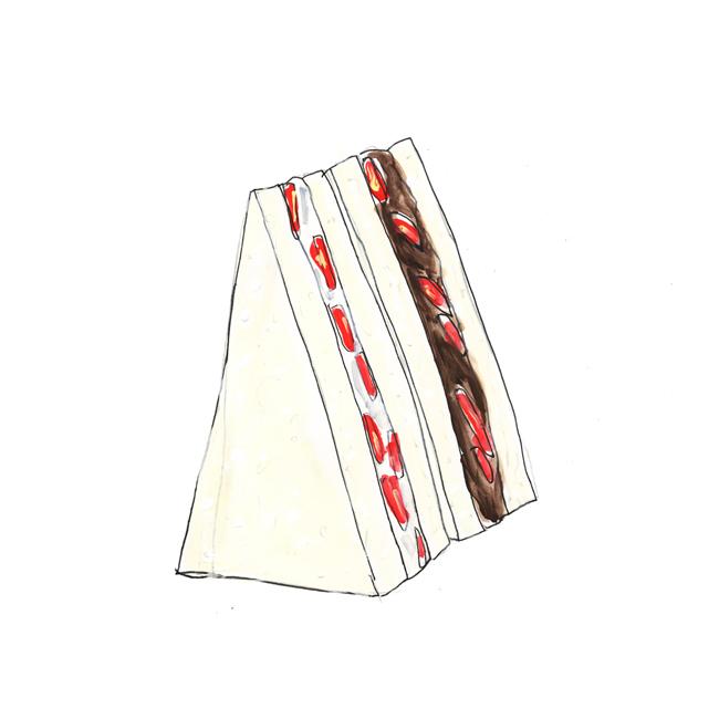 strawberry sandwich_c0154575_20162813.jpg