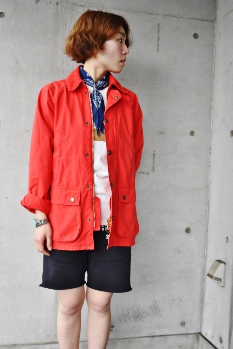 JACKET (長袖) × SHORTS スタイル!★!_d0152280_13223272.jpg
