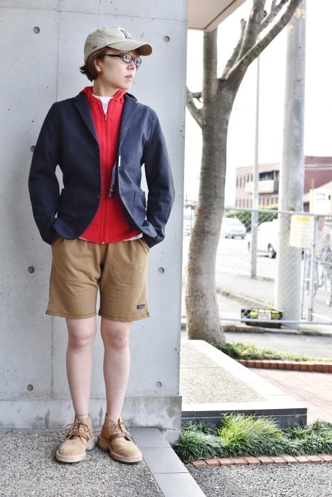 JACKET (長袖) × SHORTS スタイル!★!_d0152280_13373638.jpg